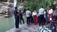 سقوط زن ۳۷ ساله از آبشار شیرآباد