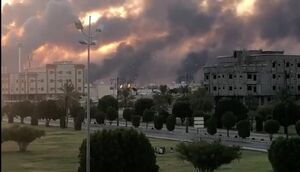 فیلم/ سرگیجه غربیها پس از حمله پهپادی یمن