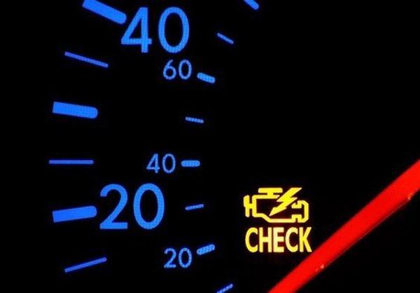 ۱۰ دلیل روشن شدن «چراغ چک» خودرو