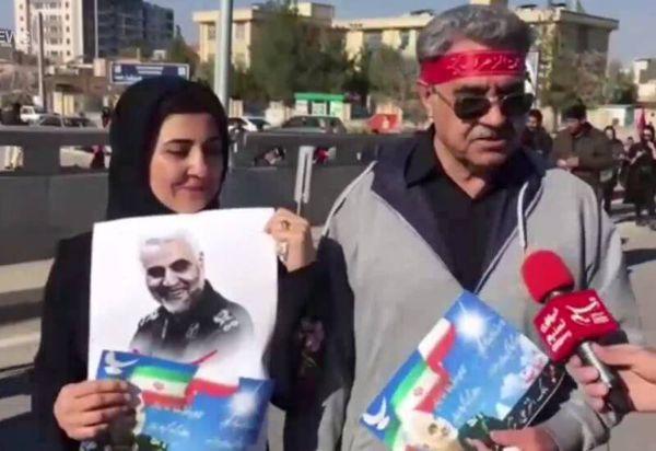 فیلم/ یاران قدیمی در بدرقه سردار شهید