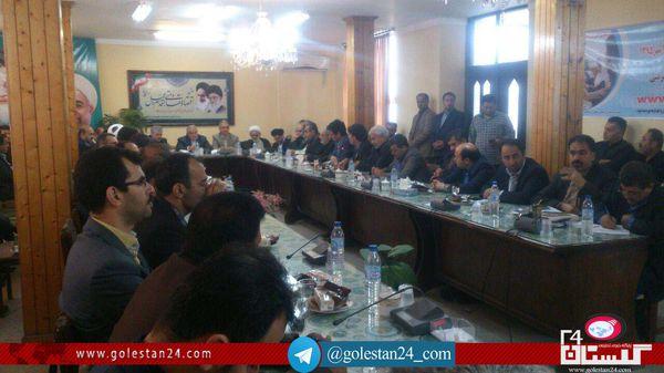 گزارش تصویری /  برگزاری شورای اداری کردکوی با حضور استاندار و مسئولان استان گلستان