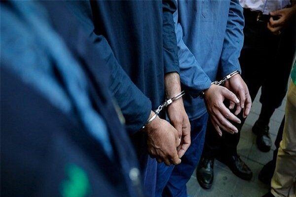 سارقان کابل برق در گنبدکاووس دستگیر شدند
