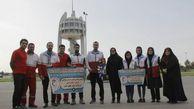 حضور سفیر صلح جهانی هلال احمر در گلستان