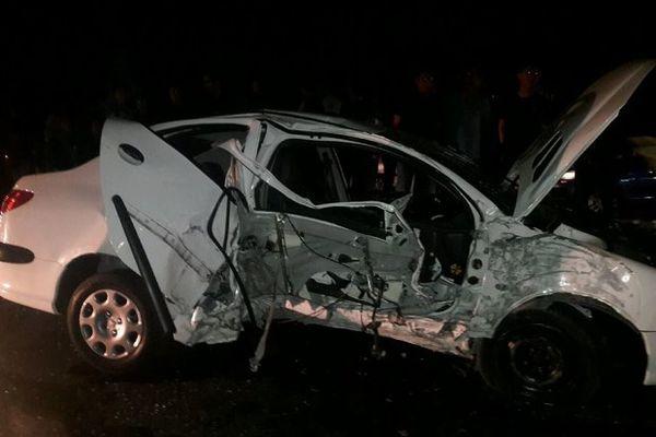 تصادف در جاده ناهارخوران ۶ مصدوم بر جای گذاشت