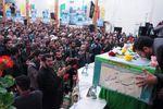 تصاویر تشییع پیکر شهید مدافع حرم حبیب الله قنبری در مازندران