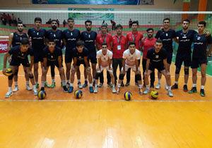 حضور تیم والیبال گلستان در نیمه نهایی مسابقات قهرمانی امیدهای کشور