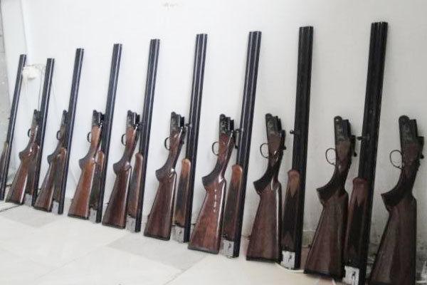 کشف ۶ قبضه سلاح شکاری غیرمجاز در رامیان