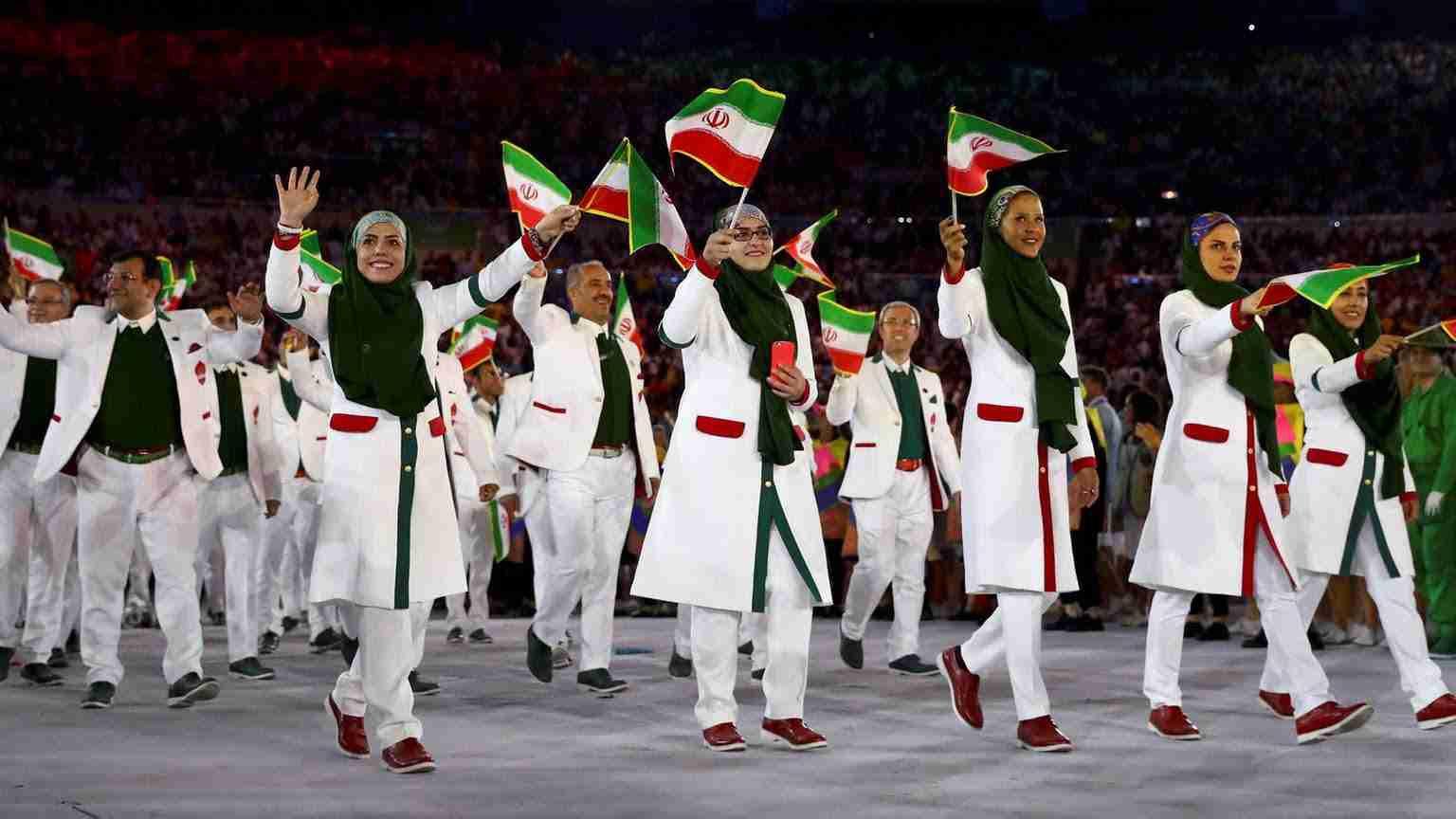 ورود کاروان ایران