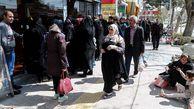 پرواز مرغ از بازار استان گلستان / داستان تکراری صفهای طولانی و روزهای کرونایی