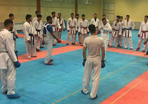 برپایی اردوی تیم ملی کاراته امیدهای ایران در گرگان