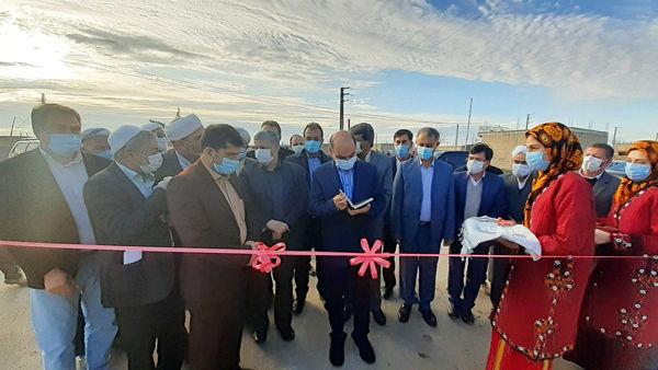افتتاح مرحله دوم طرح هادی روستای کرند گنبدکاووس