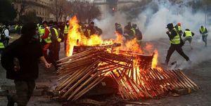حکایت جلیقهزردهایی که فرانسه را به آتش کشیدند/فیلم