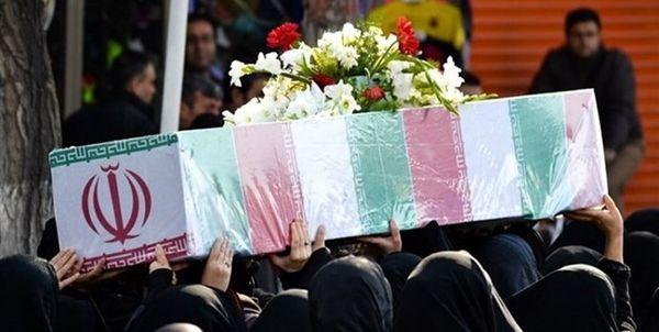 تشییع شهدای سانحه سقوط هواپیمای اوکراین در گرگان