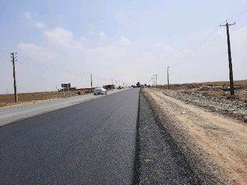 آغاز عملیات آسفالت پروژه تعریض محور بندر ترکمن - آق قلا