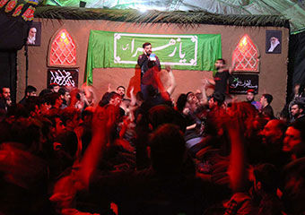 گزارش تصویری/ چادر بیت الاحزان فاطمی در بندرگز