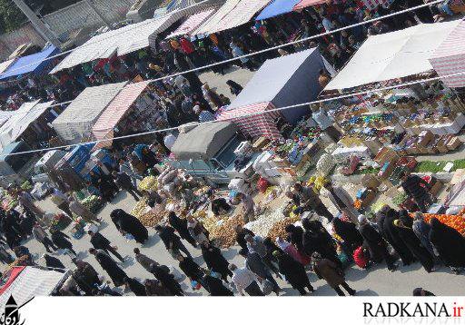 رکود خرید نوروزی در یکشنبه بازار کردکوی+تصاویر