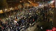 تظاهرکنندگان ایالت کالیفرنیا خواستار استقلال/ آشوب در 25 شهر مهم+تصاویر