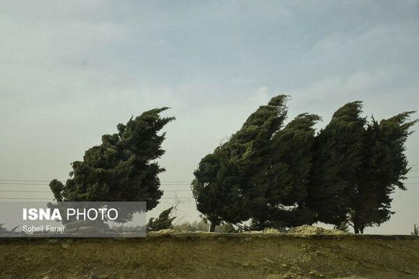 پیشبینی وزش باد شدید در گلستان