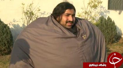 خان بابا پاکستانی، مرد 440 کیلویی روزانه چقدر غذا میخورد؟+ تصاویر