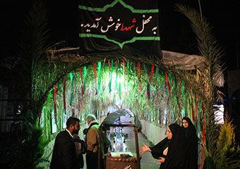 گزارش تصویری/ مراسم سالگرد تدفین شهدای گمنام در دانشگاه آزاد آزادشهر