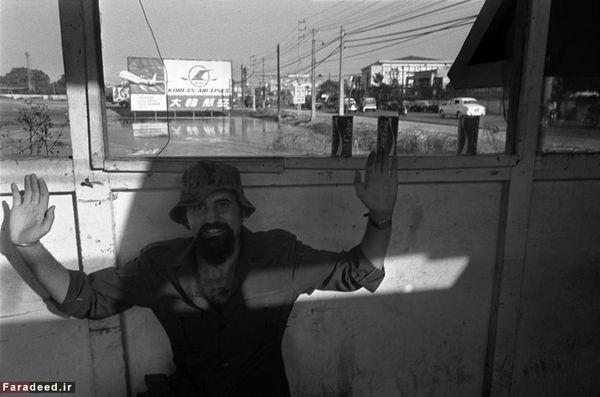 (تصاویر) یک ایرانی در جنگ ویتنام