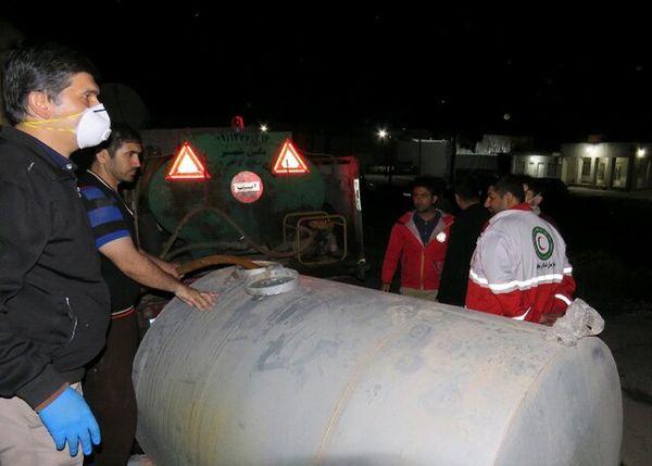 توزیع ۲۰۰۰۰ لیتر آب ژاول رایگان در گلستان
