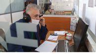 حضور مدیر منطقه گلستان در مرکز سامانه ارتباط مردمی