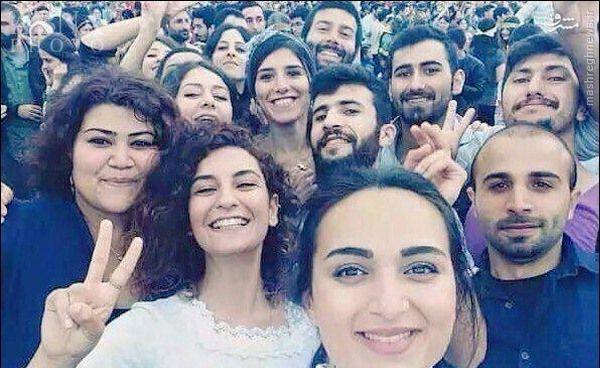 عکس/ سلفی قبل از جنایت داعش
