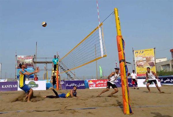 گلستانی های عضو تیم ملی والیبال ساحلی به تایلند می روند