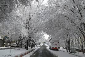 فیلم/ بارش برف در روز دوم فروردین