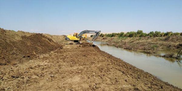 تنها 153 کیلومتر از رودخانههای گلستان پس از سیلاب رایروبی شدند