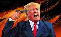 عکس/ پاسخ تحقیرآمیز دانش آموزی به ترامپ