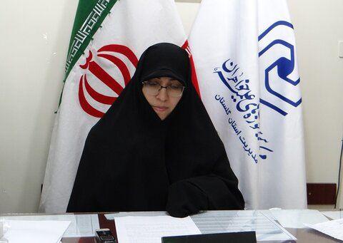 اجرای بیش از ۷۴۰ برنامه دفاع مقدس در مدارس علمیه خواهران گلستان