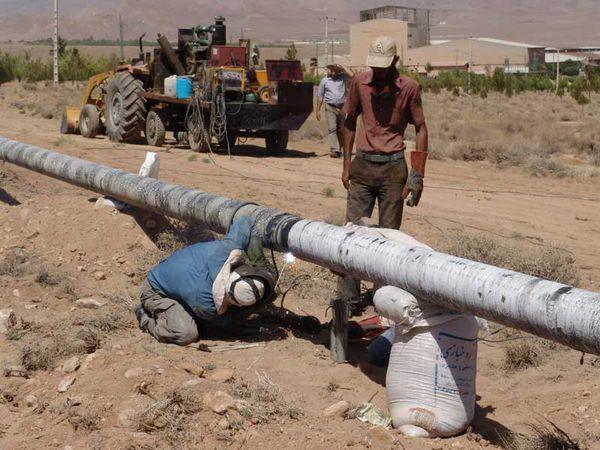 وصل شدن گاز 21 روستای مینودشت