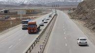 افزایش ۲ درصدی تردد وسایل نقلیه در محورهای برون شهری