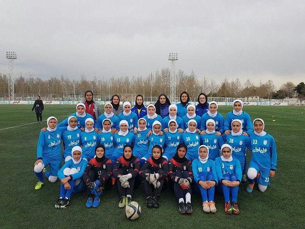 فوتبالیست گلستانی به اردوی تیم ملی دختران دعوت شد