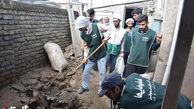 تداوم فعالیت گروه های جهادی در مناطق سیل زده