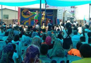 امدادرسانی فرهنگی در مناطق سیل زده آق قلا