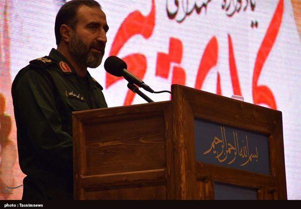 فرمانده سپاه استان گلستان: خطر تحریف در کمین دفاع مقدس نشسته است