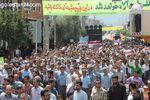 راهپیمایی در حمایت از مردم غزه