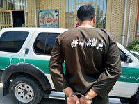 دستگیر شرور سابقه دار در علی آباد کتول + فیلم