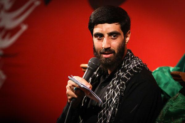 پشت پات آب میریزم دل بی تاب میریزم/سید رضا نریمانی در مورد مدافعان حرم