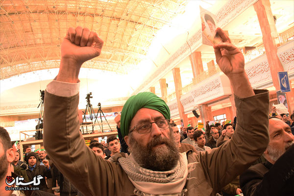 مردم گرگان بار دیگر در یوم الله نهم دی حماسه آفریدند+تصاویر