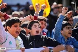 فیلم/ اجتماع ٣٠ هزار نفری دانش آموزان در مصلای امام(ره)