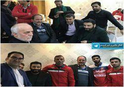 عکس/ حضور مداح معروف در اردوی پرسپولیس