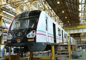 فیلم/ رونمایی از نخستین قطار مترو ملی