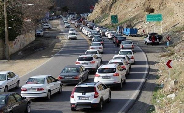 افزایش ۲.۴ درصدی تردد در محورهای برون شهری