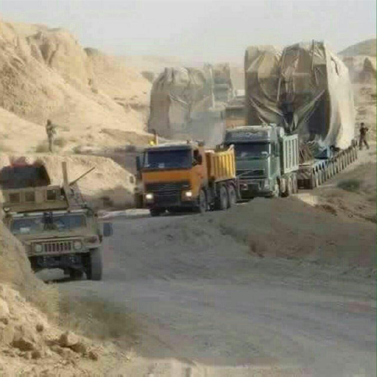 بازگشت سلیمانی با موشک زلزال به خاک عراق+عکس