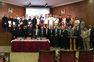 مراسم بدرقه ملیپوشان گلستانی بازیهای آسیایی جاکارتا برگزار شد