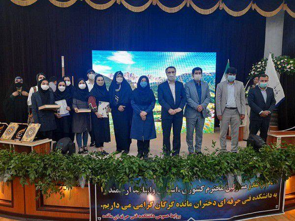 اختتامیه جشنواره ملی «جهاد سپید» در گرگان برگزارشد/60 نفر برگزیده شدند